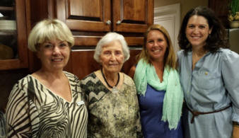 Shirley Paramore, Frances Graham, Christy Edwards and Jennifer Kopf
