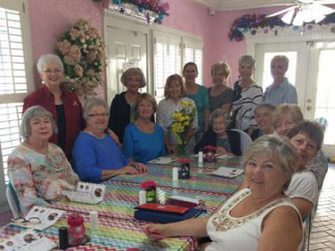 "On Saturday, September 16, Chapter AG met for a ""lunch bunch"" and the celebration of Rosemary Hubbard's 97th birthday."