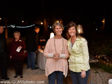 Kelli Pollock and Suzanne Curry, Silent Auction Team