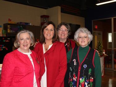 Mary Pat Riley, Nancy Gauldin, Jane Roark and Mary Thompson.