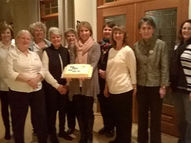 Back row: Tomya Moore, Diane Howse, Cynthia Lumpkin, and Kathy Haygood.  Front row: Liz Olliff, Dot Radeke, Tiffany Holloway, Jan Long, Jocelyn Nickerson, and Kris Ross
