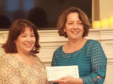Laura Summerford and Denise Snipes, President