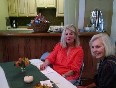 Joanne Golden and Claudia Graham