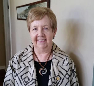Kay Neuman was initiated in October.