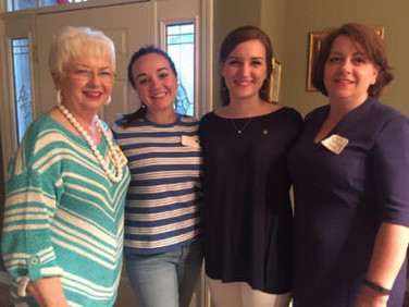 Three generations! Sheila Morgan, PSP, Ch AG, Jaqueline Snipes, Morgan Snipes, and Denise Snipes.