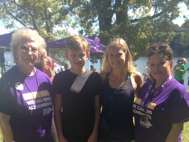 Grace Anderson, PSP, Logan Thornton, Emily Alcorn Thornton, and Samantha Hamilton
