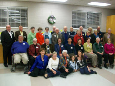 Chapter E, Auburn, enjoyed a Cottey Dinner featuring recipes from the Cottey Cookbook prepared by members.