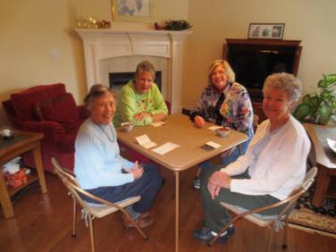 Peggy Schlemmer, Carol Williamson, Caroline Fleenor, and Virginia Beavers.