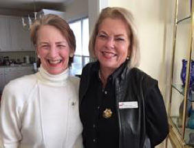 Linda Kottmeyer &  AL State Chapter Pres. Nancy Sites, Ch AB