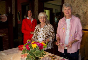 Lila Finney, Dot Vaughn, and Sue McLean