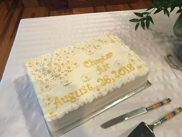A lovely celebration cake!