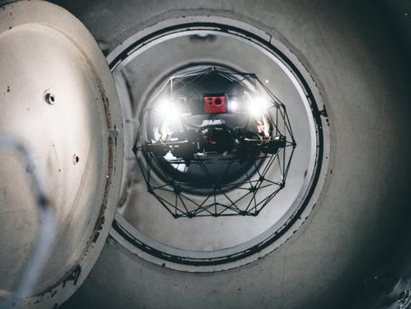 Confined Space Drone Elios 2 Bantu Perusahaan Hemat 96% Biaya Inspeksi Tangki