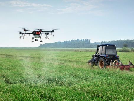 Spraying Drone DJI Agras T20 Basmi dan Kontrol Gulma Tanaman 3x Lebih Efektif