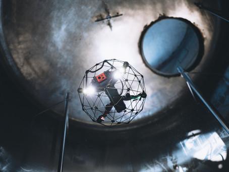 5 Jenis Data Inspeksi Yang Dapat Diperoleh Dengan Confined Space Drone Elios 2