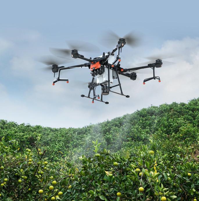 Spraying drone DJI Agras t20.jpg