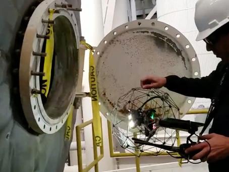 4 Keunggulan Confined Space Drone Elios 2 Dalam Menghasilkan Penghematan Biaya Inspeksi Perusahaan