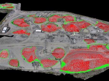 Tutorial Drone DJI untuk Pengukuran Volume Stockpile dengan Lebih Akurat