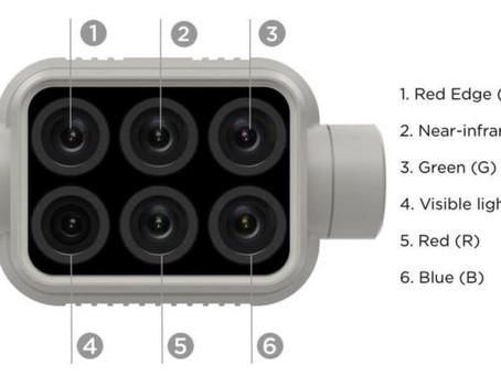 Fitur-Fitur Drone DJI Phantom 4 Multispectral Yang  Dapat Membawa Efisiensi Untuk Sektor Pertanian