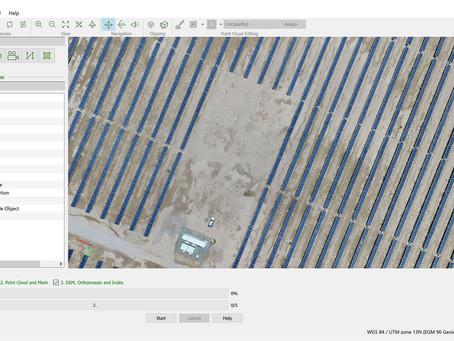 Drone Software Perhitungan Hasil Panen: DJI dan Pix4Dmapper
