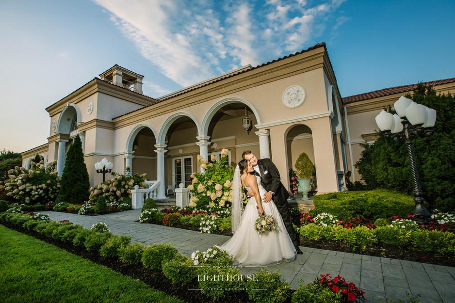 Andrea + Taylor at Villa Lombardi's