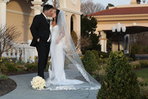 Christina + Charles at Villa Lombardi's