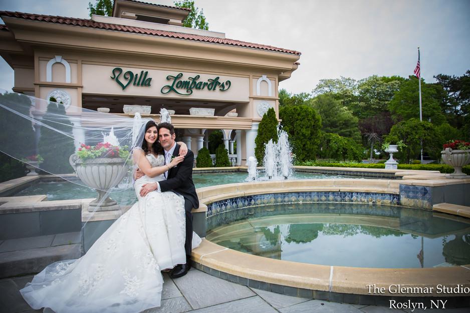 Joanna + Christopher at Villa Lombardi's