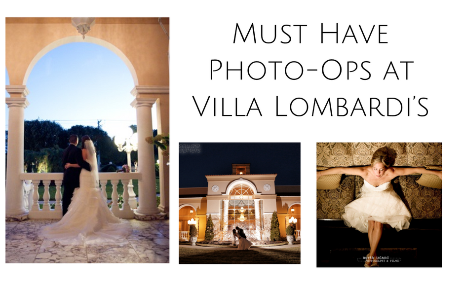 Must-Have Wedding Day Photo-Ops at Villa Lombardi's