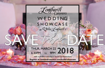 Lombardi's Next Bridal Showcase Announced