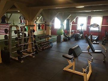 Weight Room at Studio 151 Fitness