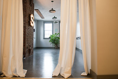 Barre and Yoga Room at Studio 151 Fitness