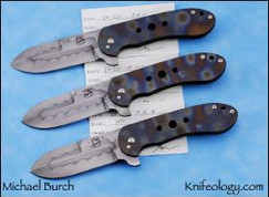 BKEDC (Burch Knifeology Every Day Carry) Limited Ed.10pcs (8-10 shown)