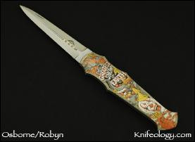 "Dagger ""Greatest Show on Earth"" engraving by Jon Robyn"