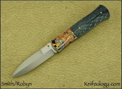 Small Dagger, Geisha & Samurai, Robyn engraved