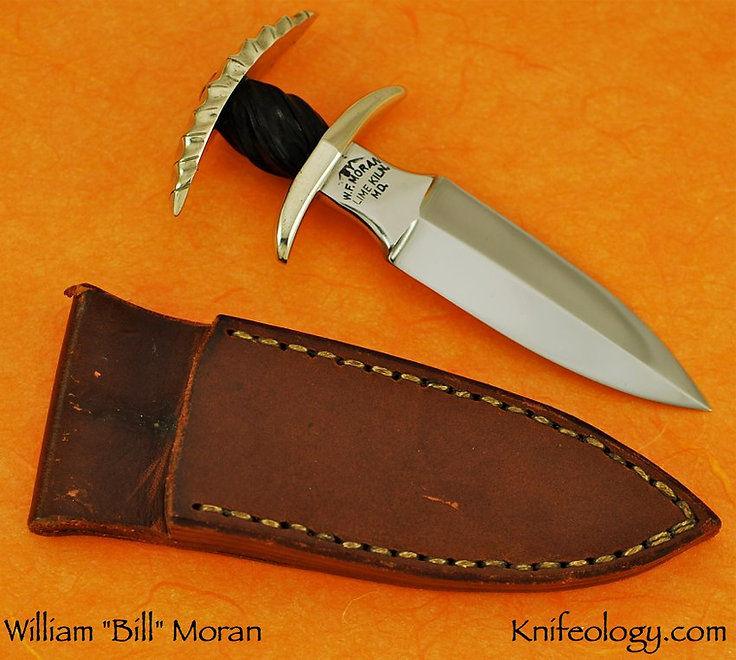 Bill Moran Lady Margaret Push Dagger 3 .