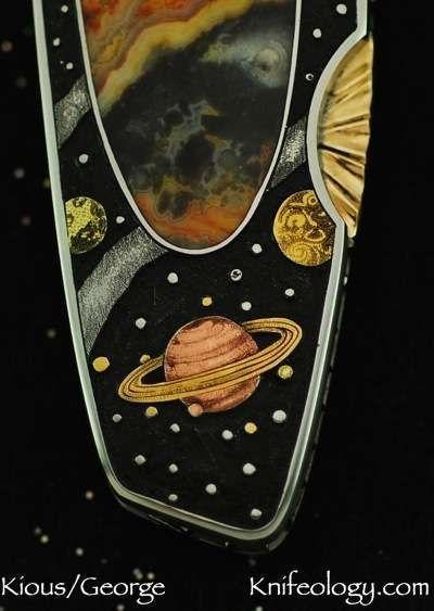 Joe Kious Space Journey engraved by Tim