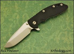 "XM18 3.5"" Custom, Spanto, Black G10"