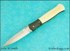 Dagger, Zirconium & Vintage Westinghouse Ivory Micarta