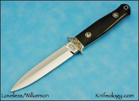 Dagger w/Wilkerson Engraving