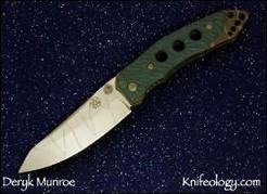 Shaman Prototype, Cracked Finish, Hunter Green G10