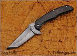 Tactical, 1095 Blade, Carbon Fiber Scales