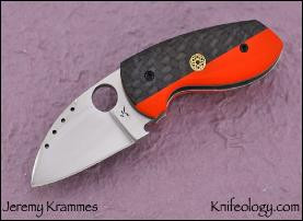 Shortcut, Carbon Fiber & Orange G10