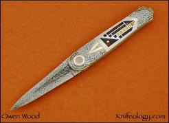 Frank Lloyd Wright Hommage Dagger