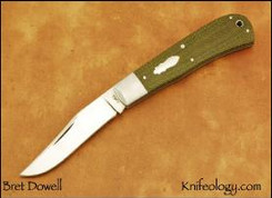 Backpocket, Green Micarta