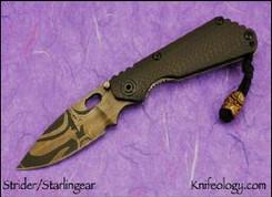 Strider Starlingear Collab SNG - Bronze Kamikaze Bead - front