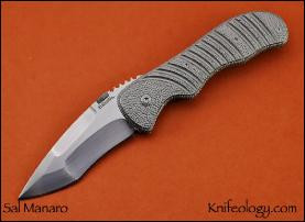 Gripp, Stippled Titanium