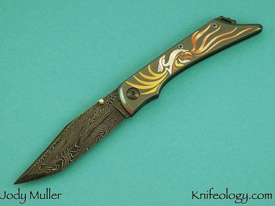 Jody Muller Engraved Knife