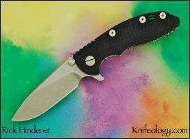"""XM18 3"""", Slicer Grind, Black G10"""