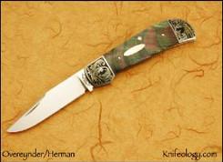 Model 7, tim Herman Engraving, Black Lip