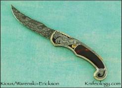 Persian, Dragon Bridge engraving by Julie Warenski