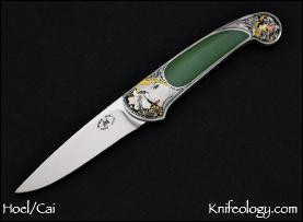 Small Persian, Engraved by C J Cai